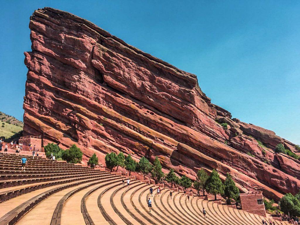 Anfiteatro Red Rocks - Denver - © Aplusintornoalmondo intervista a Giada e Giuseppe