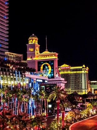 Las Vegas - Bellagio - intervista a Giada e Giuseppe ©A Plus Intorno al Mondo