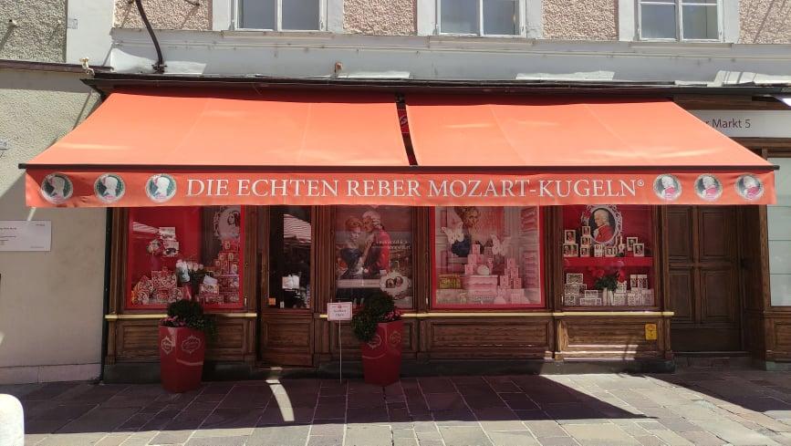 Negozio di Mozart Kugeln - Le famose Palle di Mozart di Salisburgo
