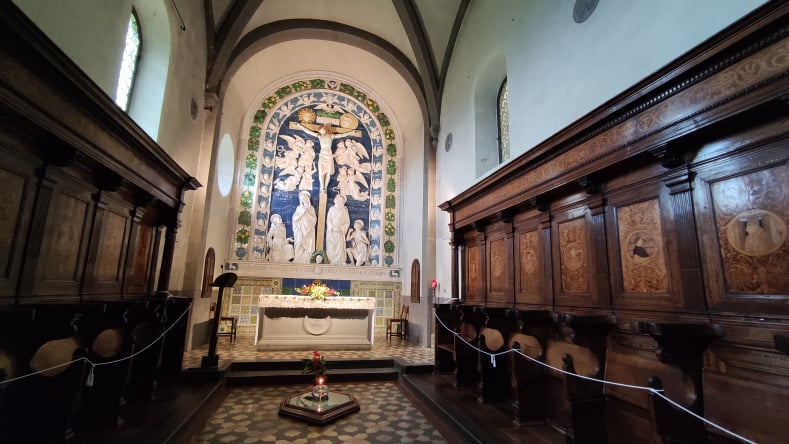 Cappella delle Stimmate - cosa vedere al Santuario francescano della Verna