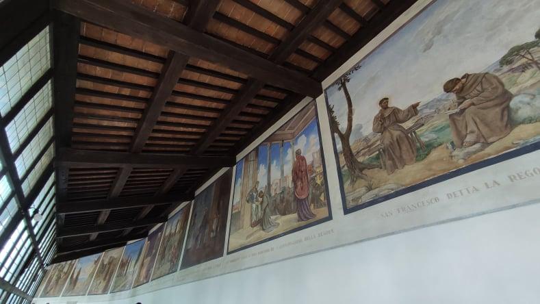 Cosa vedere all'interno del Santuario francescano della Verna - Il corridoio delle Stimmate