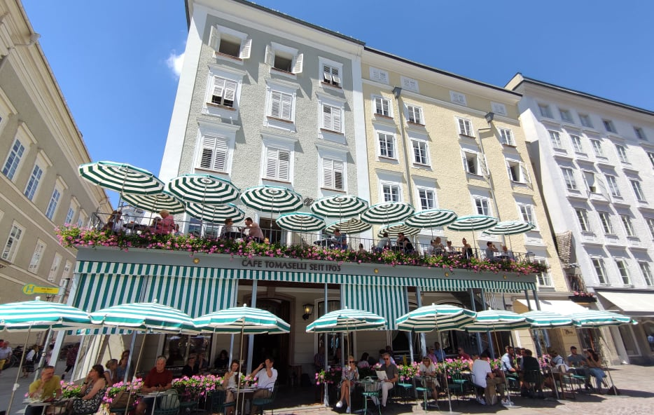 cosa vedere a Salisburgo  cafe Tomaselli