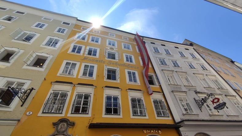 Casa natale di Mozart a Salisburgo