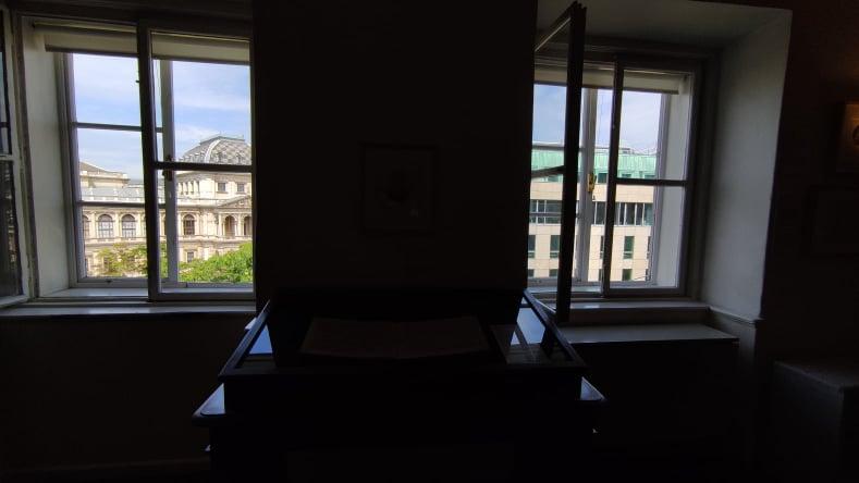 Vista sull'Università di Vienna dalla Pasqualatihaus