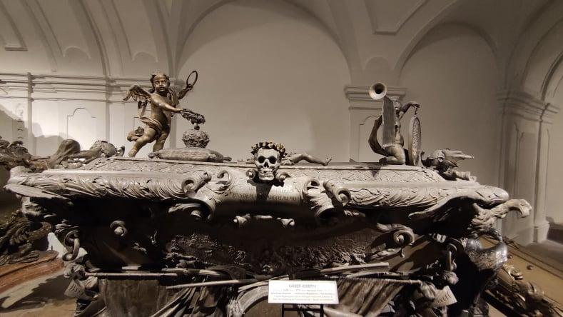 Sarcofago di Kaiser Joseph I - Cripta Imperiale Vienna