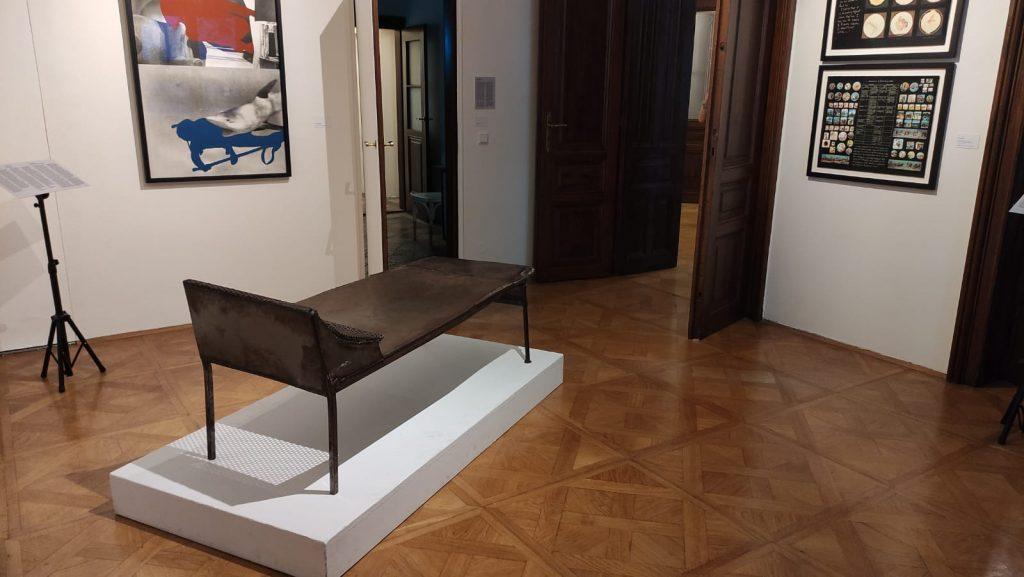 Collezione di arte concettuale - Museo di Freud a Vienna