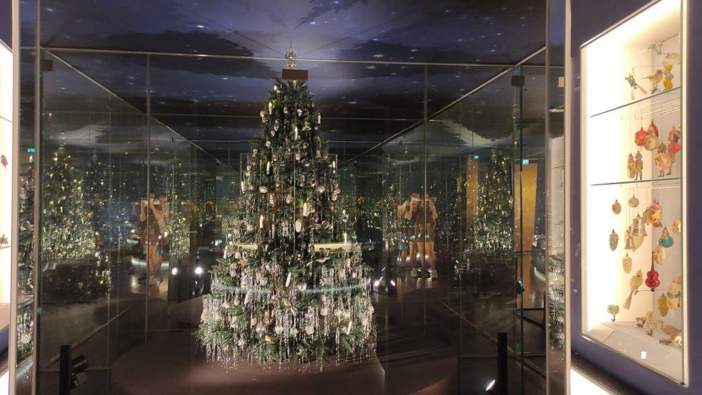 Albero di Natale in stile Art Nouveau - Museo del Natale Salisburgo