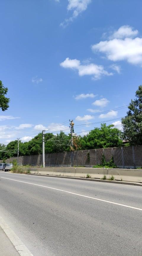 Il luogo in cui vi porta Google Maps con percorso a piedi per raggiungere la Pagoda della Pace a Vienna