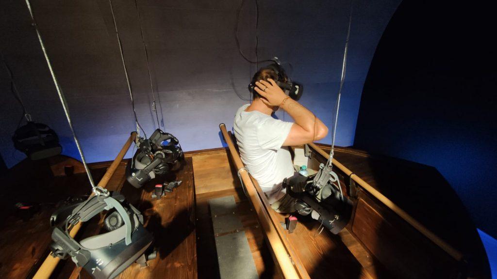 Barca pronta per l'esperienza virtuale - Sisi's Journey - Time Travel Vienna