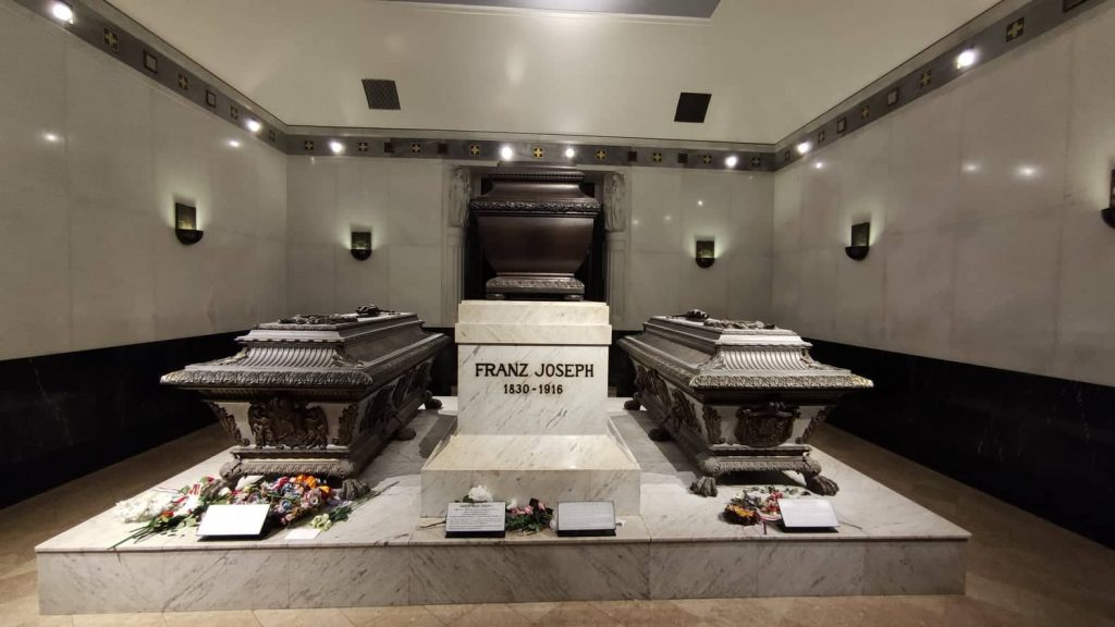 Vienna cose da vedere insolite: la cripta dei Cappuccini con le tombe della dinastia Asburgo