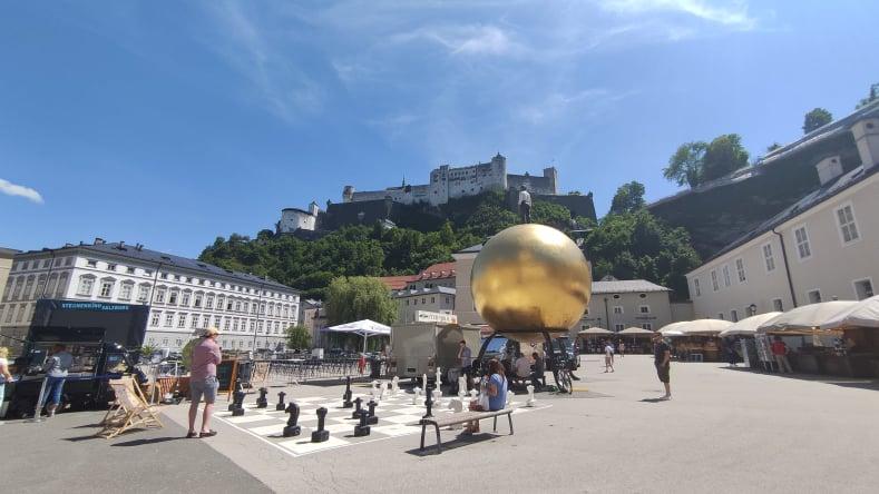 cosa vedere a Salisburgo Sphera - Kapitelplatz