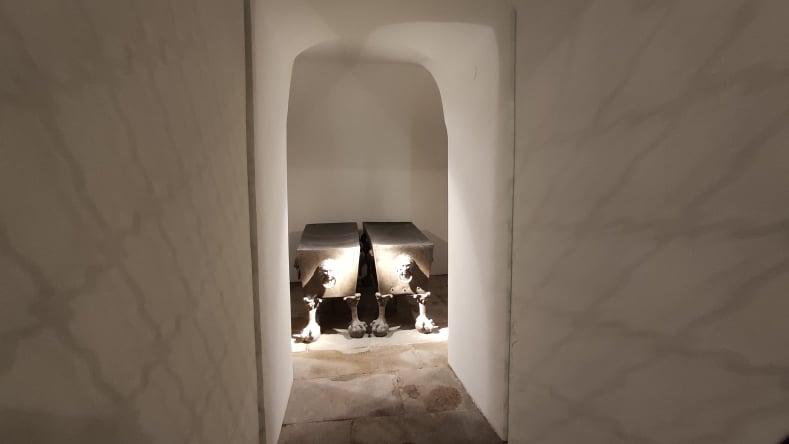 Cappella dei fondatori - Mattia e imperatrice Anna del Tirolo