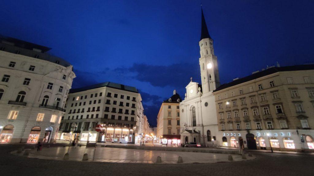 Chiesa di San Michele a Vienna dove fu eseguito per la prima volta il Requiem di Mozart