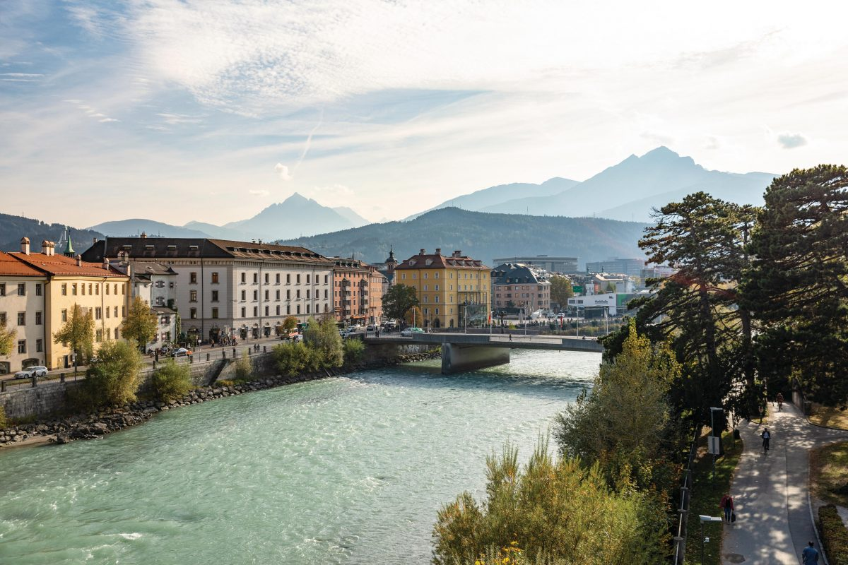 Innsbruck Ufer Sankt Nikolaus | Sankt Nikolaus| © Innsbruck Tourismus / Mario Webhofer