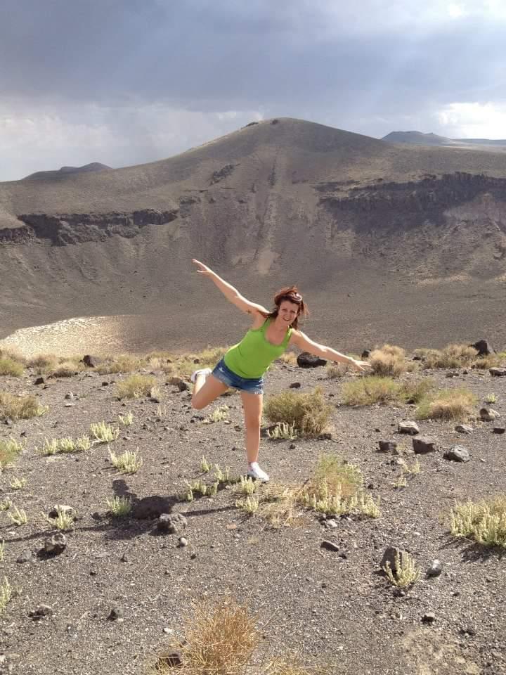Simona al Lunar Crater - Nevada - Foto del 2011