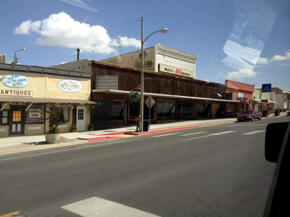 Tonopah Nevada la downtown dove avvengono i fenomeni paranormali più impressionanti