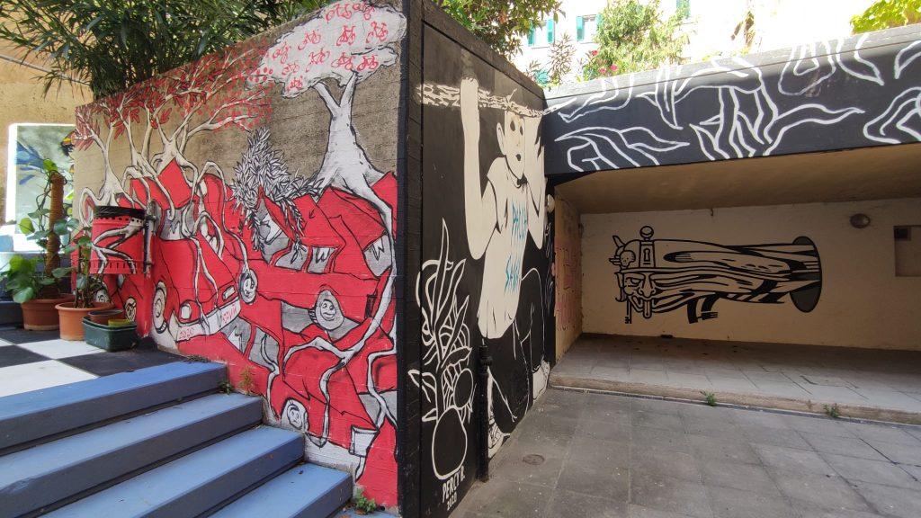 Yiuri Hopnn - Street art Ancona murales Capodimonte