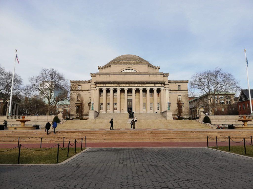 Columbia University Gossip Girl location film New York