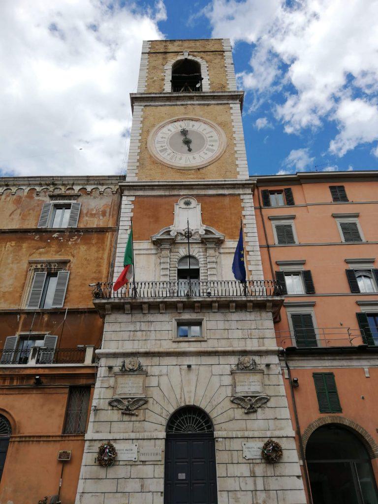 Palazzo del Governo e Torre Civica- - Piazza del Papa Ancona